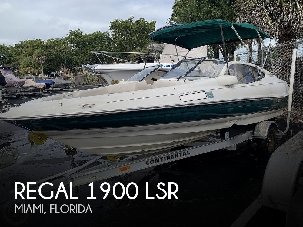 2000 REGAL 1900 LSR for sale
