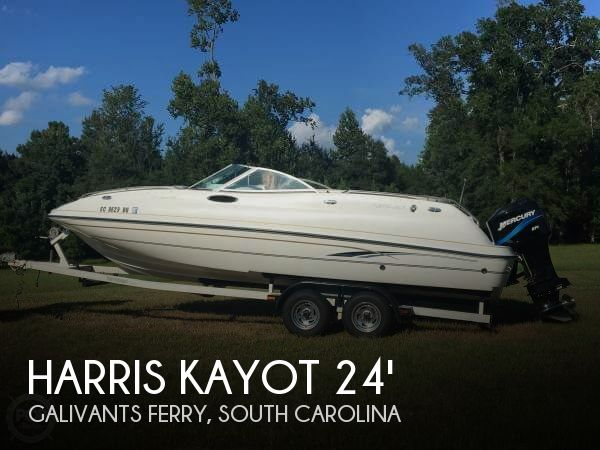 Used Deck Boats For Sale in South Carolina by owner | 2000 Harris Kayot 24