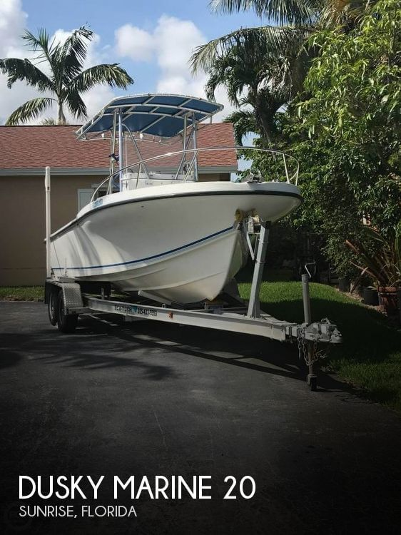 Used Dusky Marine Boats For Sale by owner | 1998 Dusky Marine 20