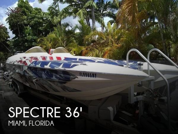 Used Spectre Boats For Sale by owner | 2004 Spectre 35