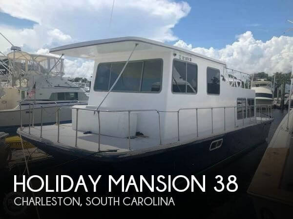 Used Holiday Mansion Houseboats For Sale by owner | 1984 Holiday Mansion 38
