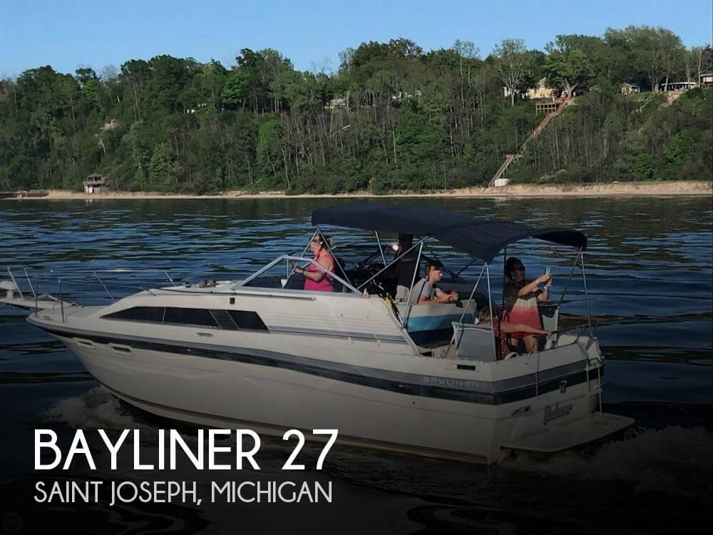Used Bayliner Boats For Sale in Michigan by owner   1986 Bayliner 27