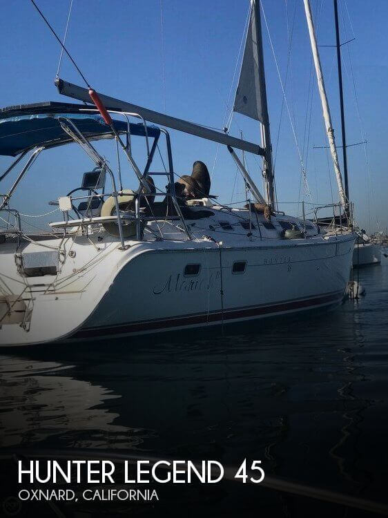 Used Hunter Boats For Sale by owner | 1987 Hunter 46