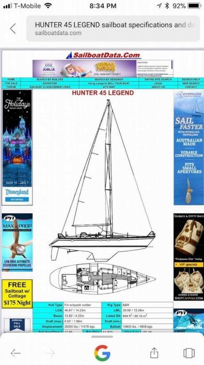1987 Hunter 46 - image 11