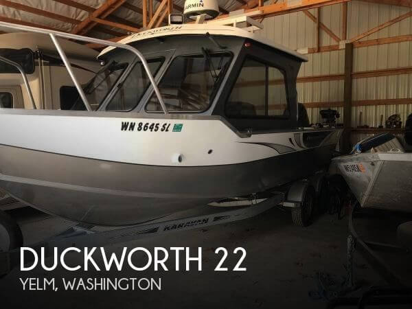 Used Duckworth Boats For Sale by owner | 2017 Duckworth 22
