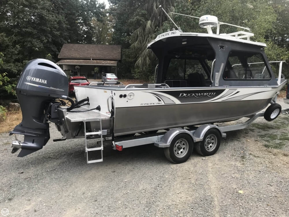 SOLD: Duckworth 22 Pacific Pro boat in Yelm, WA | 160203