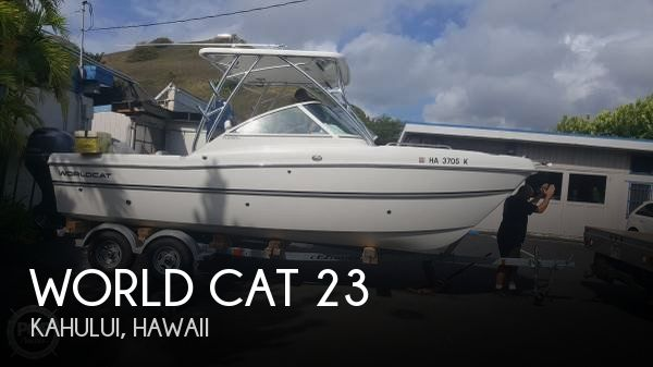 Used Boats For Sale in Hawaii by owner | 2017 World Cat 22