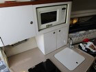 Nice Compact Galley With Microwave