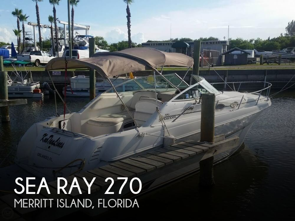 Used Sea Ray 27 Boats For Sale by owner | 1999 Sea Ray 270