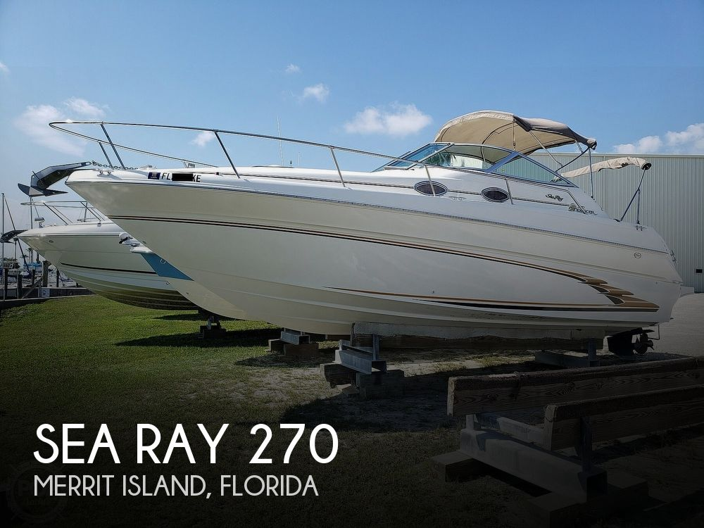 1999 Sea Ray boat for sale, model of the boat is 270 Sundancer & Image # 1 of 40