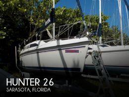 1997 Hunter 26