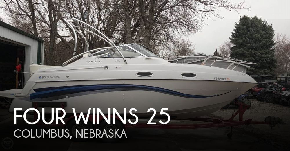 Used Boats For Sale in Lincoln, Nebraska by owner | 1999 Four Winns 25