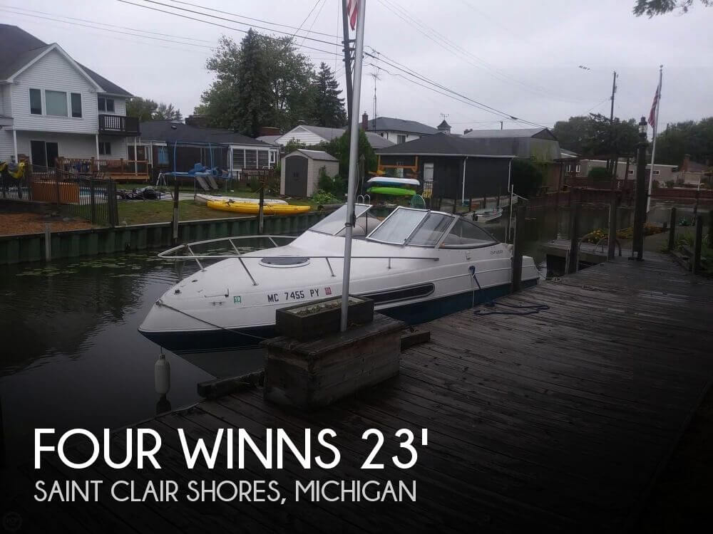 Used FOUR WINNS Boats For Sale in Michigan by owner | 1994 Four Winns 23