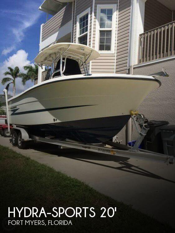 Used Hydra-Sports Boats For Sale by owner | 2011 Hydra-Sports 20