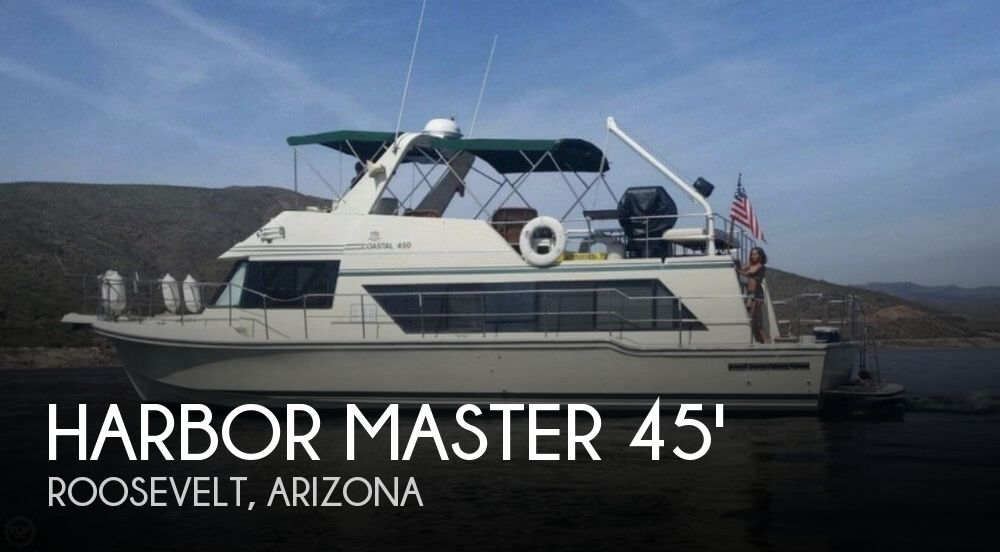 Used Boats For Sale in Arizona by owner | 1990 Harbor Master 52