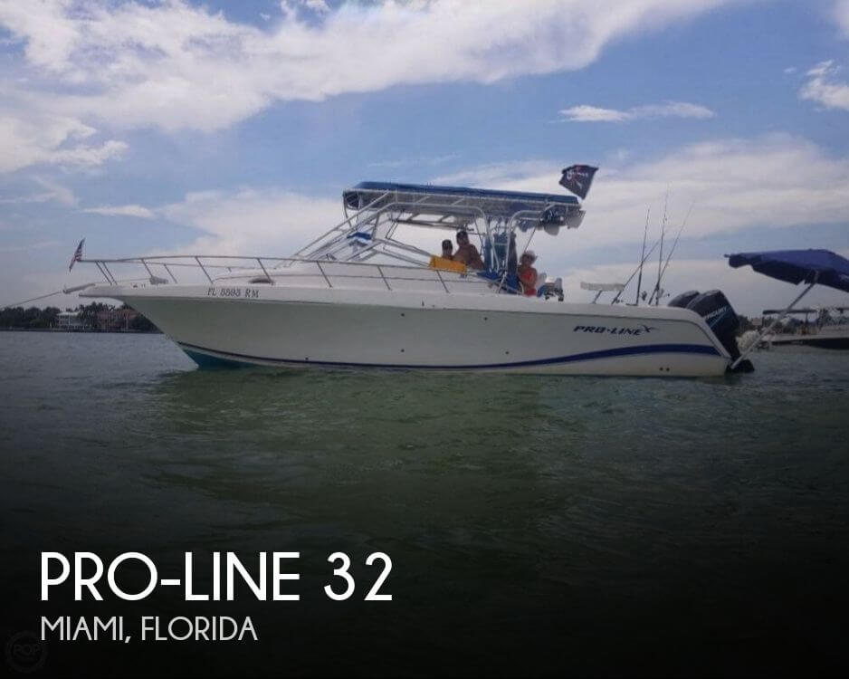 Used Pro-Line Boats For Sale in Florida by owner | 2004 Pro-Line 32