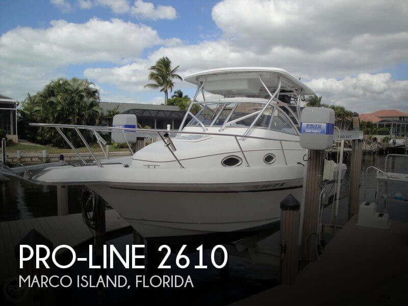 Used Pro-Line Boats For Sale in Florida by owner | 1999 Pro-Line 29