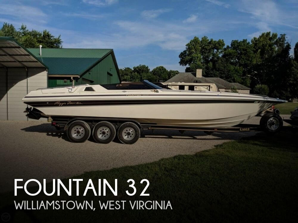 Used Boats For Sale in West Virginia by owner | 1992 Fountain 32