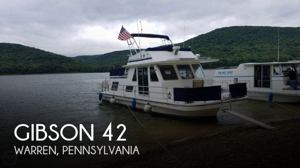 Used Boats For Sale in Erie, Pennsylvania by owner | 1993 Gibson 42