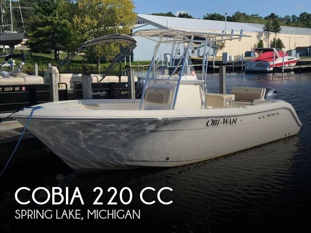 Used Ski Boats For Sale in Michigan by owner | 2017 Cobia 220 CC