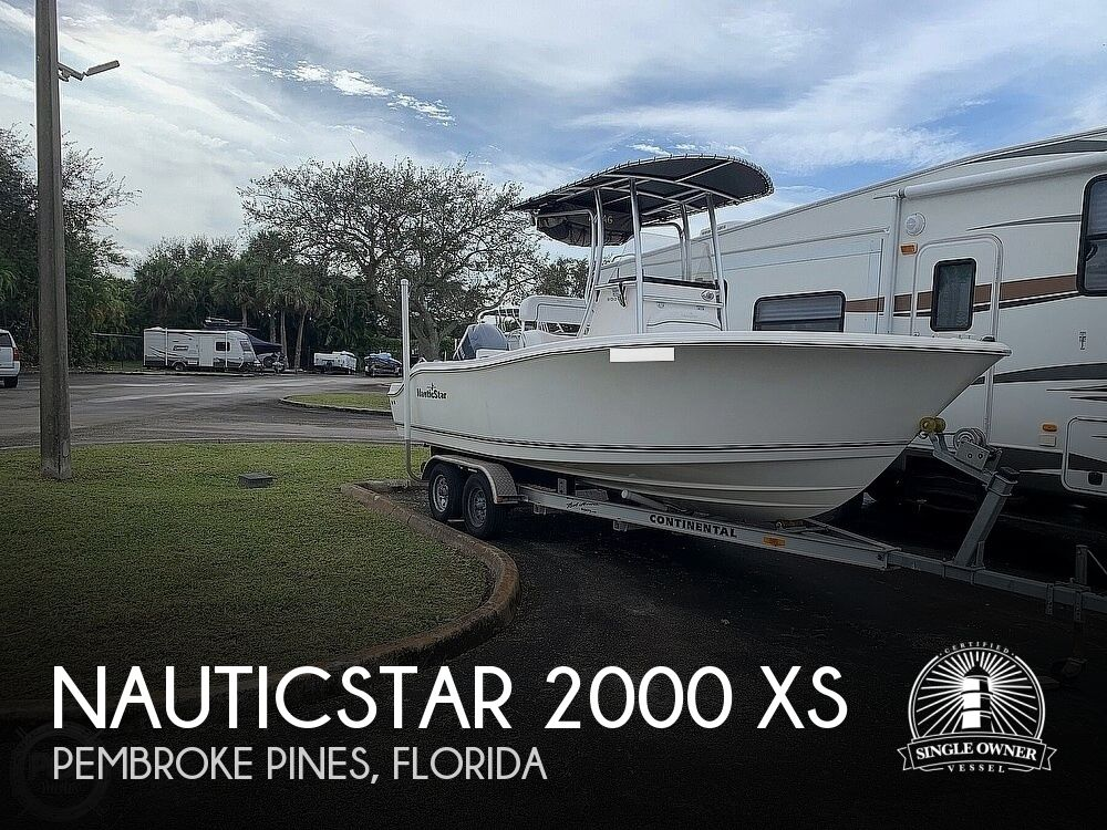 2013 Nautic Star boat for sale, model of the boat is 2000 xs & Image # 1 of 41