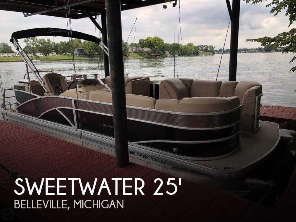 Used Sweetwater Pontoon Boats For Sale by owner | 2016 Sweetwater 24