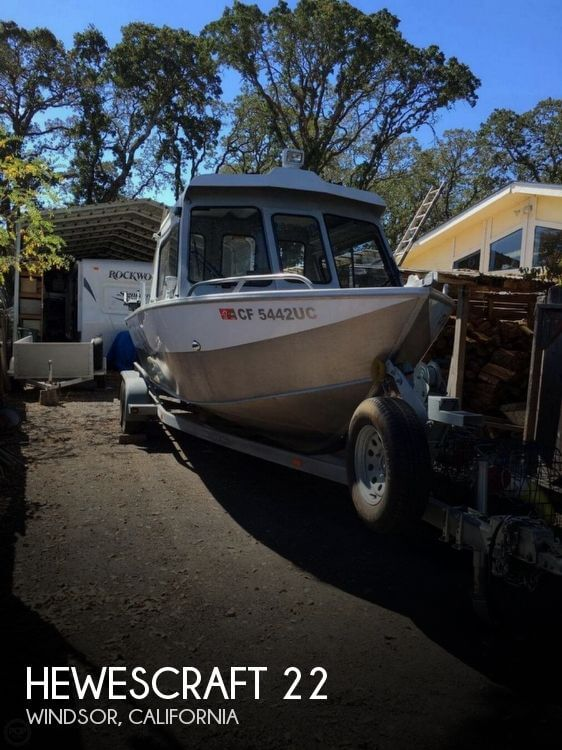 Used Power boats For Sale in Santa Rosa, California by owner | 2005 Hewescraft 22