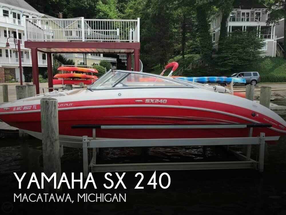 Used Boats For Sale in Grand Rapids, Michigan by owner | 2012 Yamaha 23