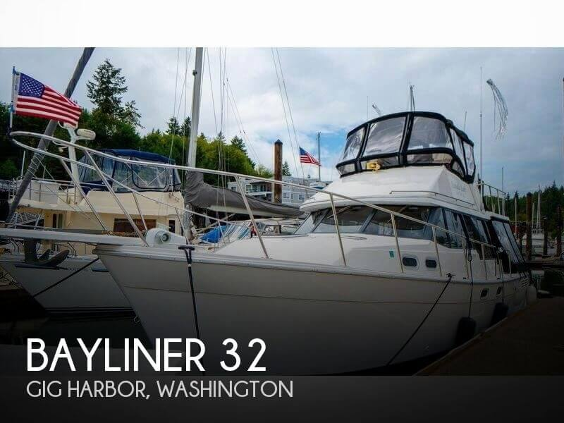 Used Motoryachts For Sale in Washington by owner | 1990 Bayliner 32