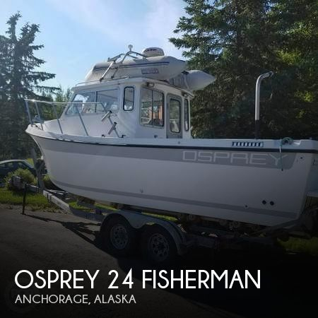 Used Boats For Sale in Anchorage, Alaska by owner | 2004 Osprey 24