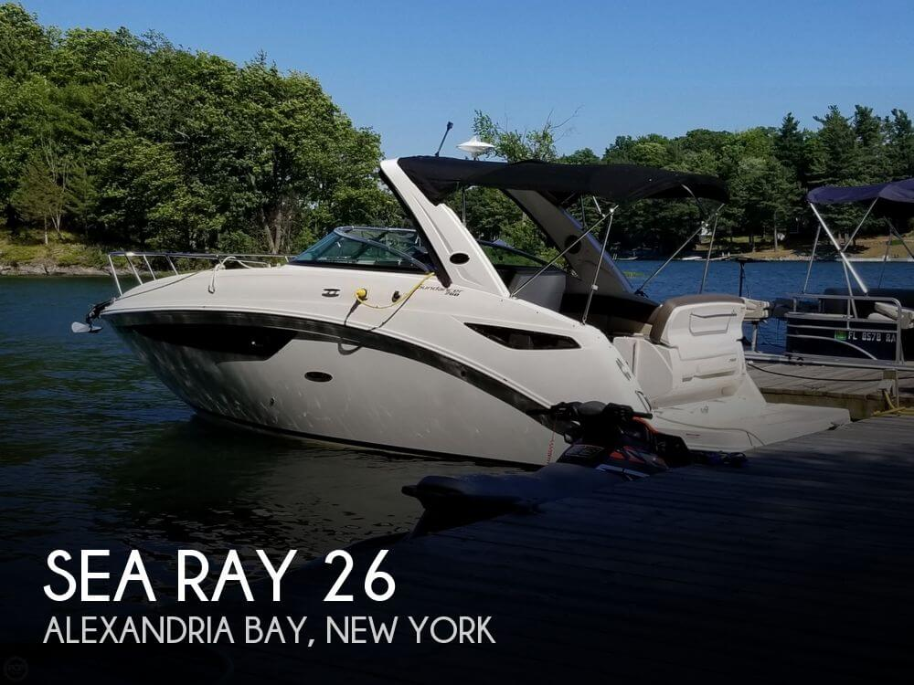 Used Boats For Sale in Indianapolis, Indiana by owner | 2015 Sea Ray 26