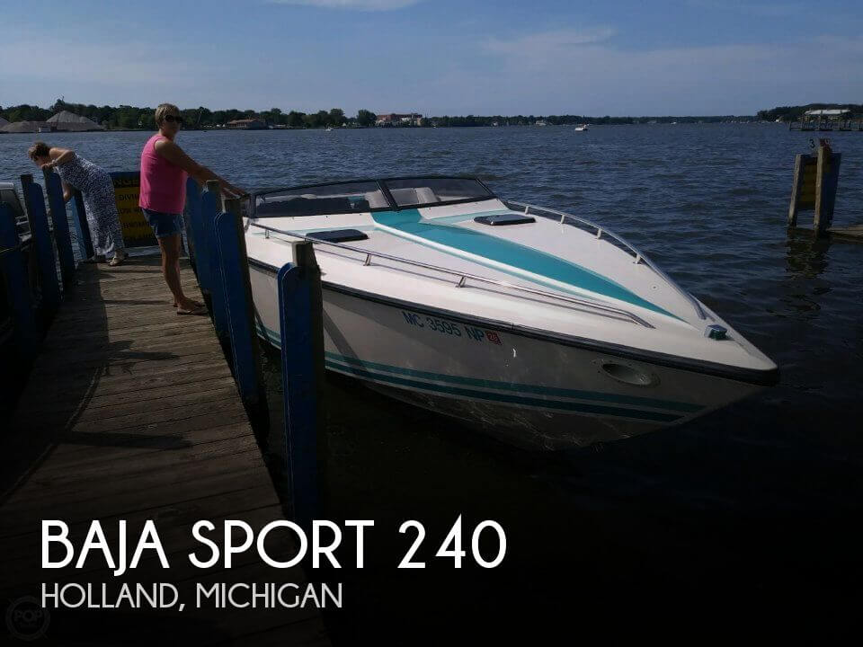 Used Baja Boats For Sale in Michigan by owner | 1989 Baja 24
