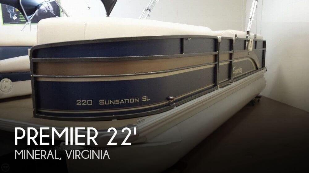 2013 PREMIER PONTOONS 220 SUNSATION SL for sale