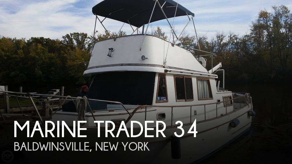 Used Marine Trader Boats For Sale by owner   1977 Marine Trader 34