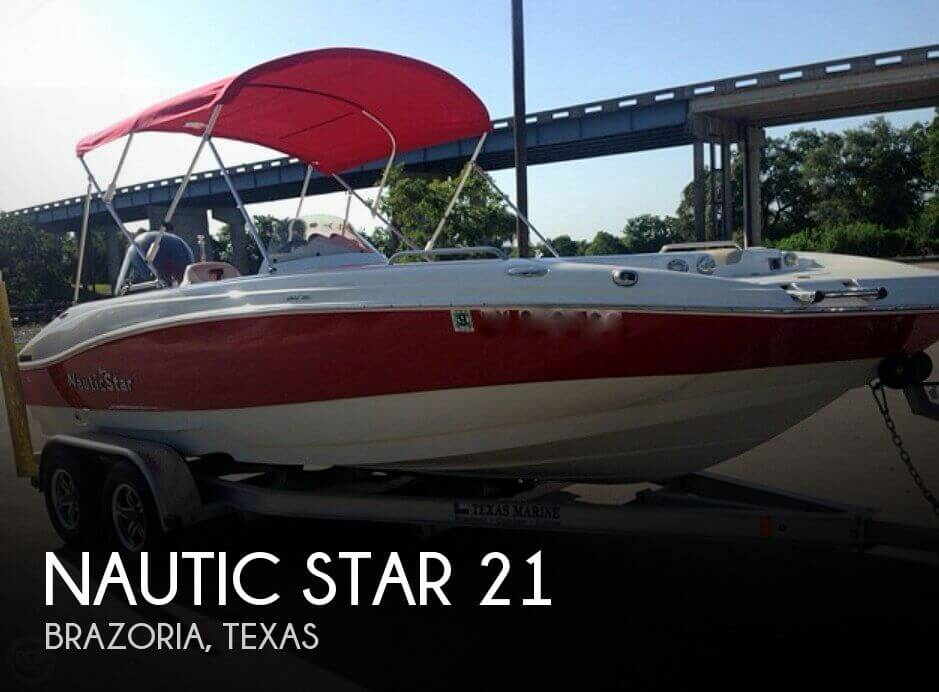Used Deck Boats For Sale in Texas by owner | 2017 Nautic Star 21