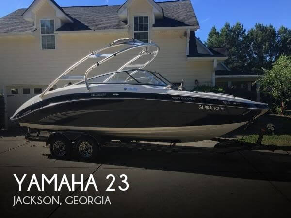 Used Yamaha Boats For Sale in Georgia by owner | 2011 Yamaha 23