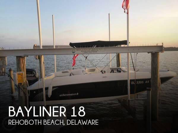Used Bayliner 18 Boats For Sale by owner | 2016 Bayliner 18