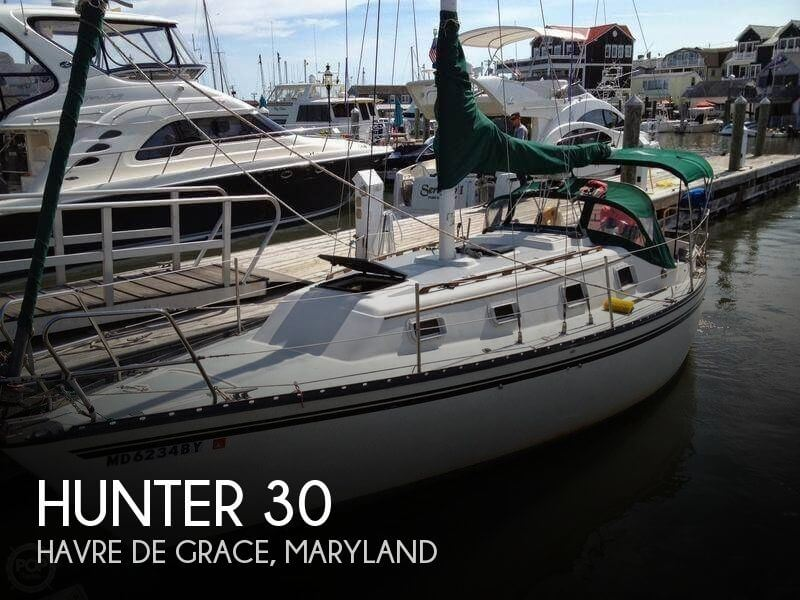 Used Hunter Sailboats For Sale in Maryland by owner | 1980 Hunter 30