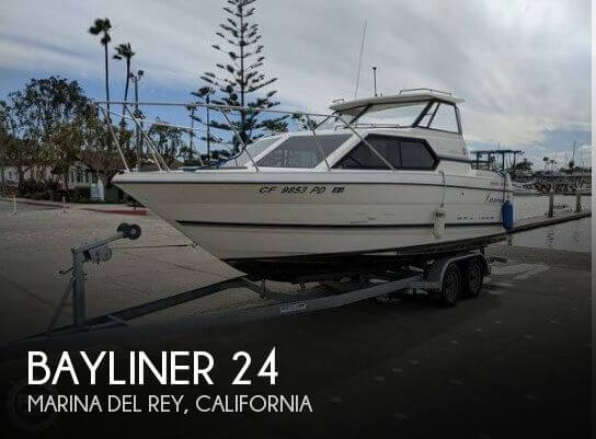 Used Bayliner Boats For Sale in Oxnard, California by owner | 1998 Bayliner 24