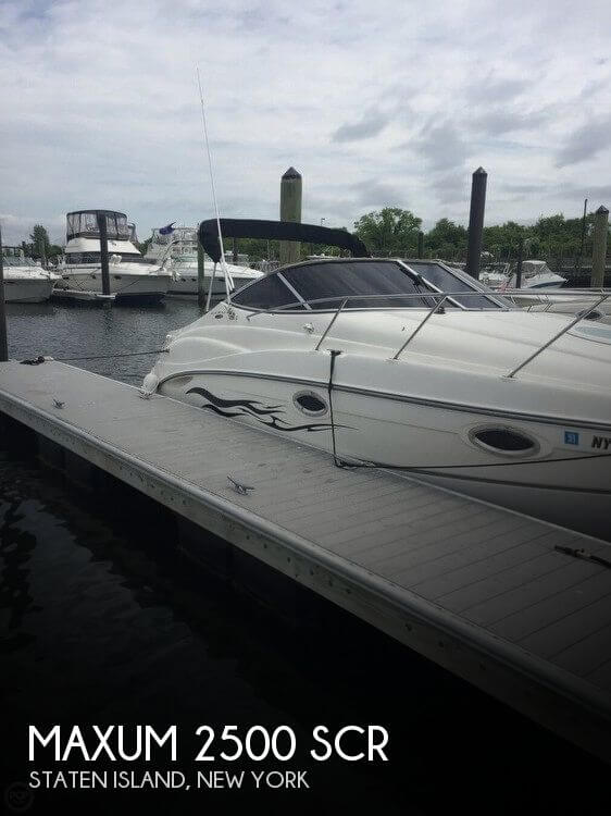 Used Maxum Boats For Sale in New York by owner | 2003 Maxum 27