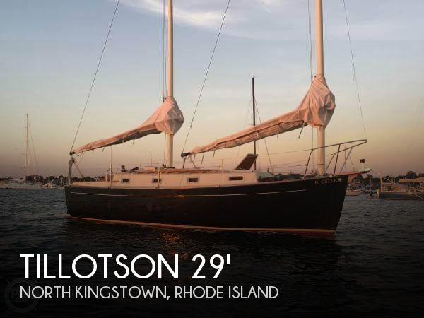 Used Tillotson   Pearson Boats For Sale by owner | 1980 Tillotson & Pearson 29