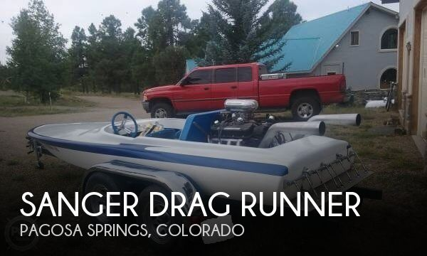 1978 Sanger boat for sale, model of the boat is Drag Runner & Image # 1 of 7