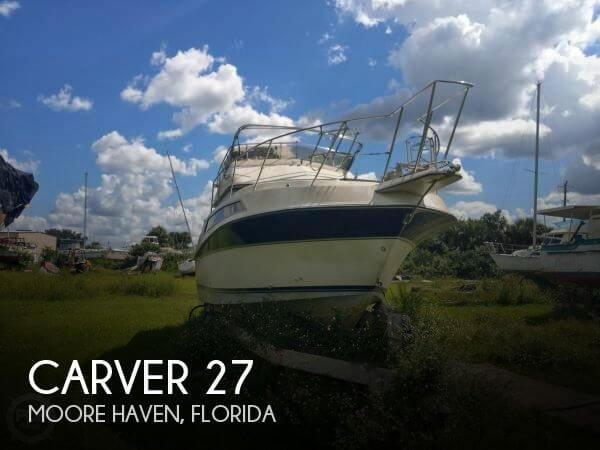 Used Carver 27 Boats For Sale by owner | 1988 Carver 27
