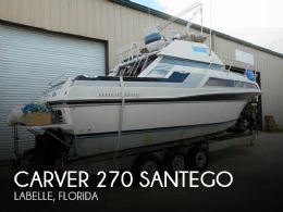 1988 Carver 270 Santego
