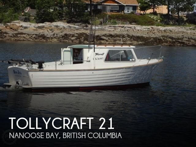 1957 Tollycraft boat for sale, model of the boat is 21 & Image # 1 of 40