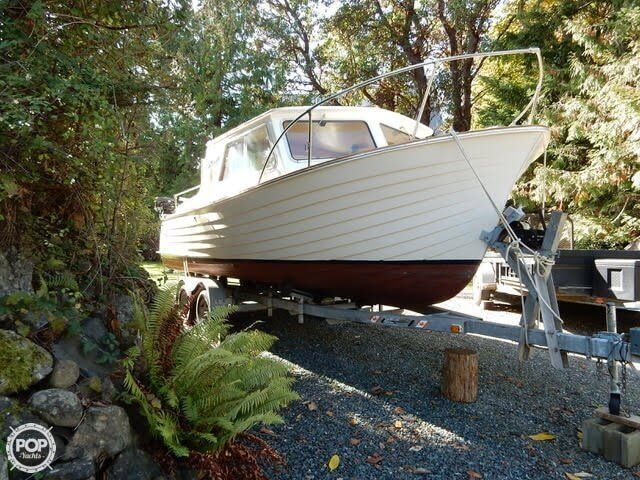 1957 Tollycraft boat for sale, model of the boat is 21 & Image # 14 of 40