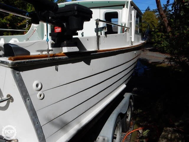 1957 Tollycraft boat for sale, model of the boat is 21 & Image # 25 of 40