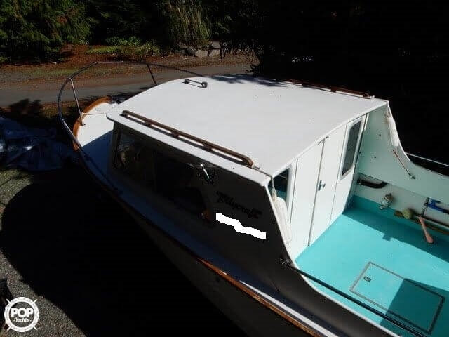 1957 Tollycraft boat for sale, model of the boat is 21 & Image # 7 of 40
