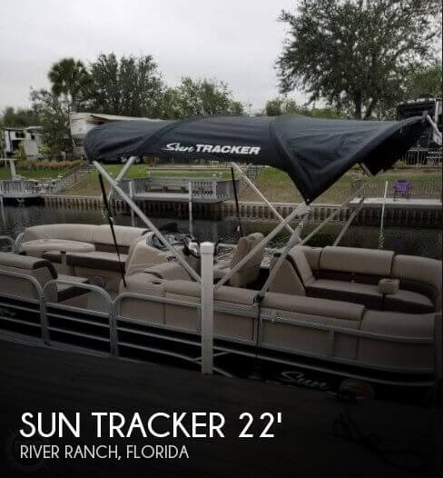 Used SunTracker Pontoon Boats For Sale by owner | 2018 Sun Tracker 24