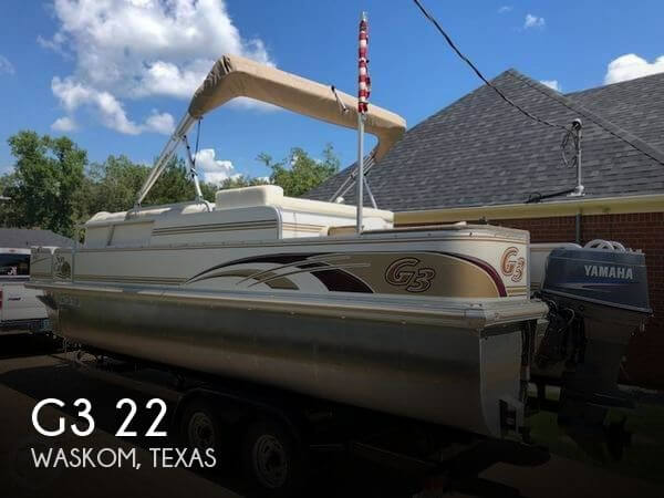 Used Pontoon Boats For Sale in Texas by owner | 2005 G3 22
